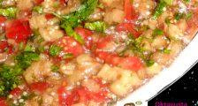 Sirkeli Közlenmiş Sebze Salatası Tarifi