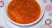 Domatesli Bulgur Çorbası Tarifi