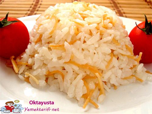 tel sehriyeli pirinc pilavi