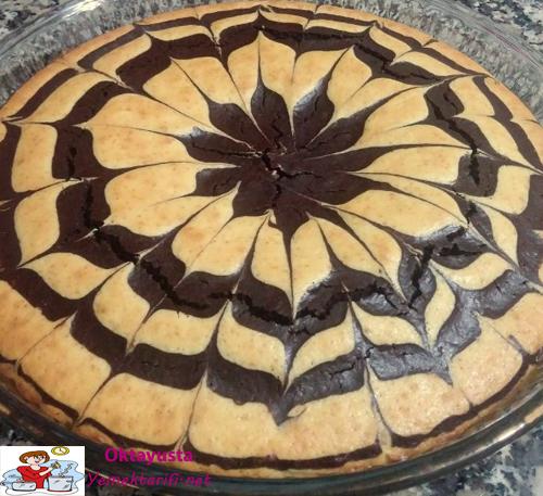 Ebruli Kek Yapımı Videosu