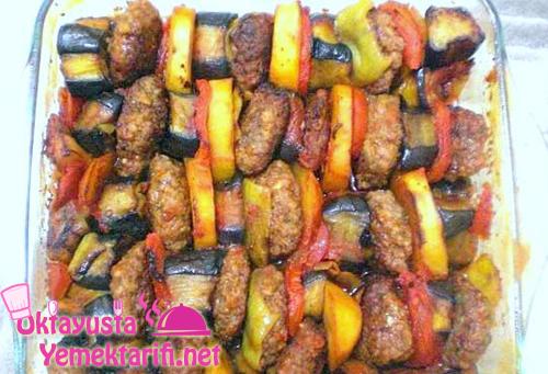kofteli patlican kebabi