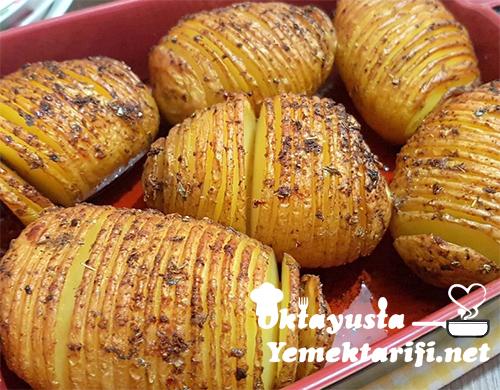 firinda yelpaze patates